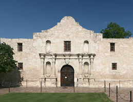 Das Alamo in San Antonio
